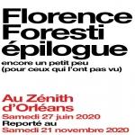 FLORENCE FORESTI-reporté au 21/11/20